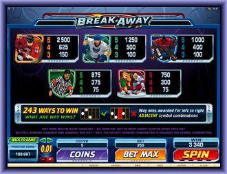 Break Away online slot